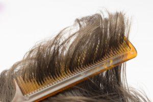 髪の毛と櫛3